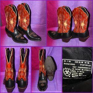 ARIAT WOMENS WESTERN BOOTS NWOT